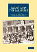 Japan and the Japanese ebook