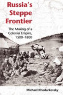 Pdf Russia's Steppe Frontier