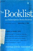A L A  Booklist Book PDF