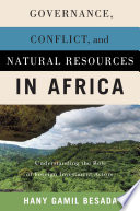 Governance  Conflict  and Natural Resources in Africa