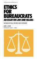 Ethics for Bureaucrats Pdf/ePub eBook