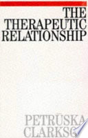 The Therapeutic Relationship in Psychoanalysis, Counselling Psychology and Psychotherapy