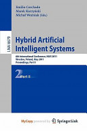 Hybrid Artificial Intelligent Systems Book