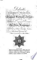 The Peerage of the United Kingdom of Great Britain & Ireland