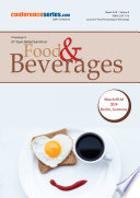 Proceedings of 21st Euro Global Summit on Food and Beverages 2018