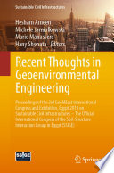 Recent Thoughts In Geoenvironmental Engineering