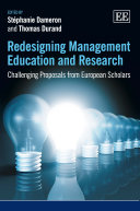 Redesigning Management Education and Research