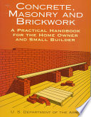 Concrete, Masonry and Brickwork