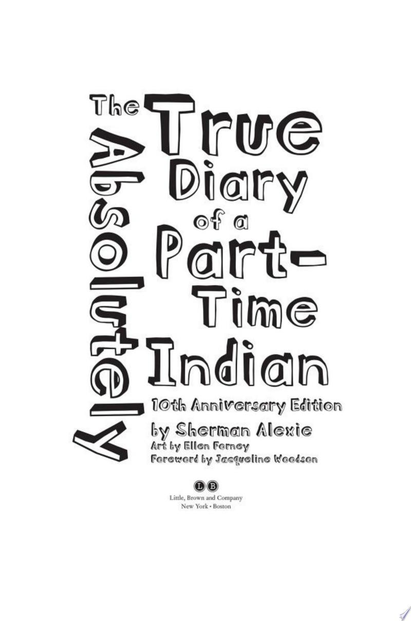 The Absolutely True Diary of a Part-Time Indian image