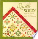 Quilts Sold  Book PDF