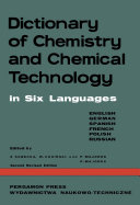 Dictionary of Chemistry and Chemical Technology [Pdf/ePub] eBook