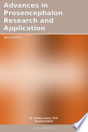 Advances in Prosencephalon Research and Application  2012 Edition