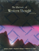 The Rhetoric of Western Thought Book