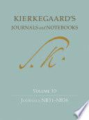 Kierkegaard's Journals and Notebooks Volume 10