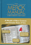 The Merck Manual of Diagnosis and Therapy 18th Edition