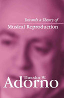 Pdf Towards a Theory of Musical Reproduction