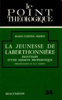La jeunesse de Laberthonnière