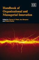 Handbook of Organizational and Managerial Innovation Pdf/ePub eBook