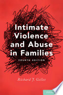 Intimate Violence and Abuse in Families Book