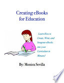 Creating eBooks for Education