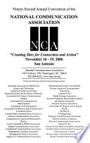 Papers from the ... NCA Convention