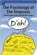 """""""The Psychology of the Simpsons: D'oh!"""" by Alan S. Brown, Chris Logan"""