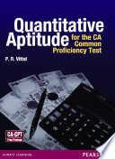 Quantitative Aptitude for the CA: Common Proficiency Test