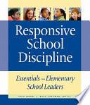 Responsive School Discipline