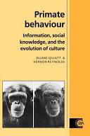 Primate Behaviour