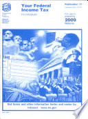 Your Federal Income Tax for Individuals  2009 Publication 17