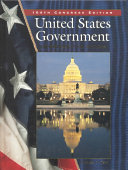 United States Government  Democracy in Action  Student Edition