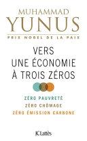 Pdf Vers une économie à trois zéros Telecharger