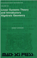 Linear Systems Theory & Introductory Algebraic Geometry