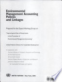 Environmental Management Accounting Policies and Linkages