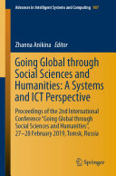 Going Global through Social Sciences and Humanities  A Systems and ICT Perspective