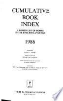 The Cumulative Book Index