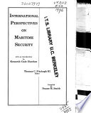 International Perspectives on Maritime Security