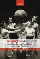 Pdf Remaking the Male Body Telecharger