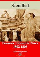 Pdf Pensées:filosofianova (1802-1805) Telecharger