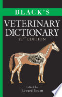 """""""Black's Veterinary Dictionary"""" by Edward Boden"""