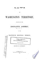 Laws     Enacted by the Legislative Assembly Book