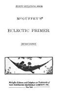 McGuffey s Eclectic Primer Book PDF