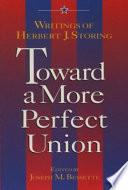 Toward a More Perfect Union Book