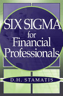 Six Sigma for Financial Professionals
