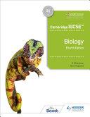 Cambridge IGCSETM Biology 4th Edition