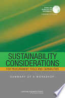 Sustainability Considerations for Procurement Tools and Capabilities