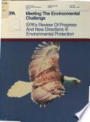 Meeting the Environmental Challenge