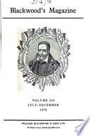 Blackwood's Magazine  , Volume 324