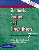 Cover of Electronic Devices and Circuit Theory