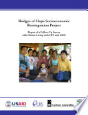 Bridges of Hope Socioeconomic Reintegration Project: Report of a Follow-Up Survey With Clients Living With HIV and AIDS